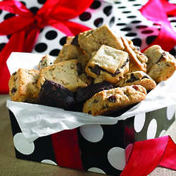 2 Dozen Sugar Free Cookies in Polka Dot Gift Box