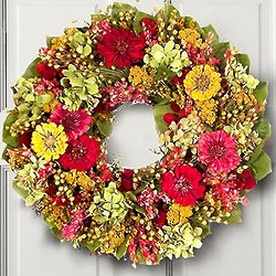 Chelsea Garden Preserved Floral Wreath