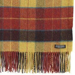 Classic Red Check Throw Blanket