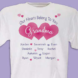Our Hearts Belong To You T-Shirt