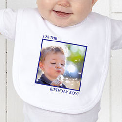 Picture Perfect Personalized Baby Bib