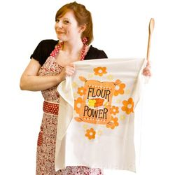 Flour Power Flour Sack Towel
