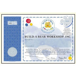 Share of Build-A-Bear Workshop Stock