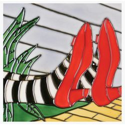 Ruby Slippers Ceramic Wall Tile