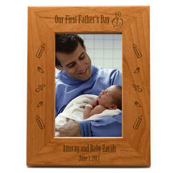 First Father's Day Picture Frame