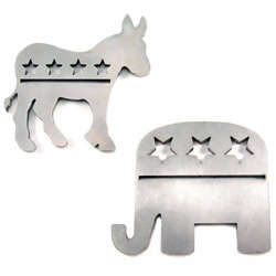 Political Party Steak Branding Irons