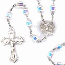 Deluxe Madonna Swarovski Rosary