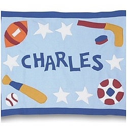 Personalized Sports Baby Blanket