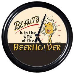Beerholder Round Clock
