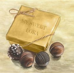 My Sweet Chocolate Lover Personalized Print