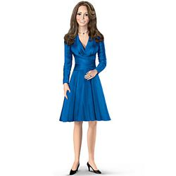 Kate Middleton Porcelain Doll