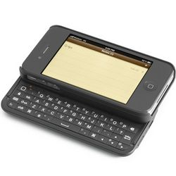 Gunmetal iPhone Keyboard Case