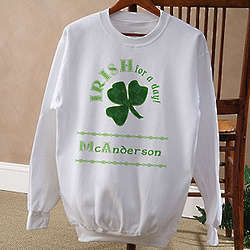 Irish for a Day Adult Sweatshirt