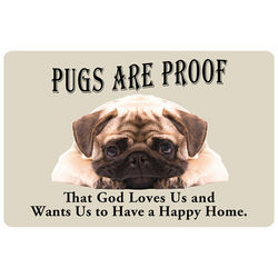 Pug Dog Breed Doormat