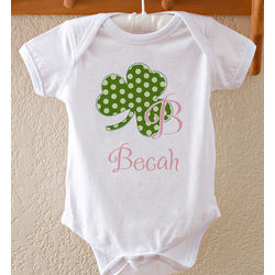 Personalized Irish Baby Bodysuit