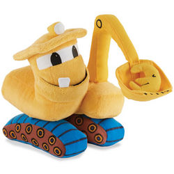Goodnight, Goodnight Construction Site Plush Excavator Toy