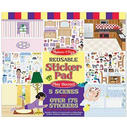 Play House Reusable Sticker Pad
