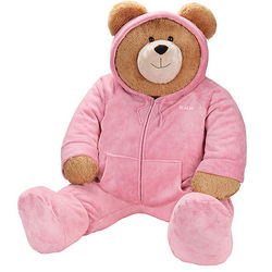 4.5' Big Hunka Love Hoodie-FootieTeddy Bear