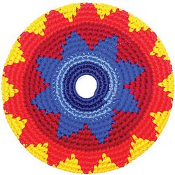 Red Multicolored Pocket Disc Toy