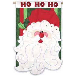Ho Ho Ho Santa Large Flag