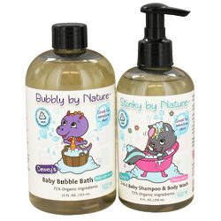 Baby's Tubby Time Bubble Bath, Shampoo and Body Wash
