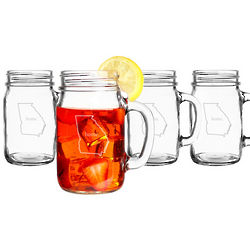 Home State Old Fashioned Drinking Jars