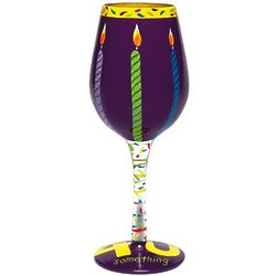 40 Something Wine Glass