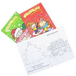 """11"""" Christmas Coloring Book"""
