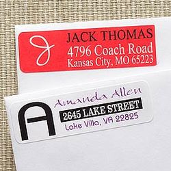 Personally Yours Return Address Labels