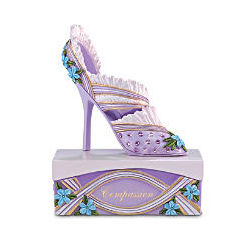 Support Alzheimer's Research Shoe Figurine