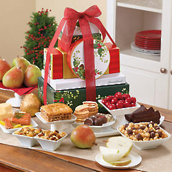 Grand Holiday Tower of Treats Gift