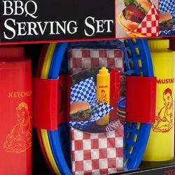 Tailgating BBQ Serving Set