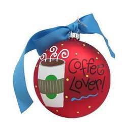 Coffee Lover Christmas Ornament