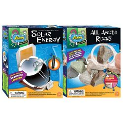 Solar Energy and All About Rocks Combo