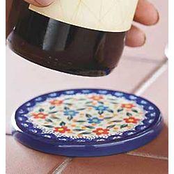 Polish Pottery Coaster