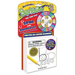 Alphabet Squiggle on the Go Drawing Game