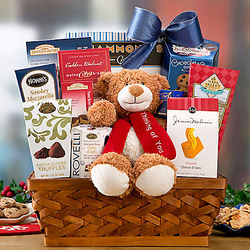 Thinking of You Chocolate and Savory Assortment Gift Basket