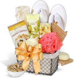 Engagement Spa Gift Basket