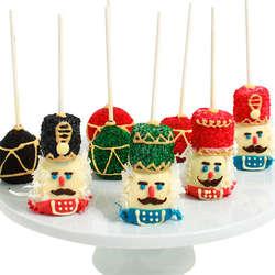 Nutcracker Cake Pops