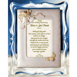 50th Anniversary Personalized Framed Poem