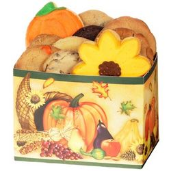 Fall Leaf Cookie Box