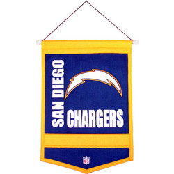 San Diego Chargers Traditions Banner