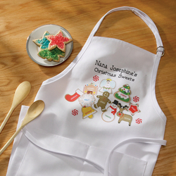 Personalized Christmas Sweets Apron