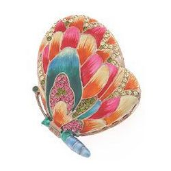 Butterfly Shaped Compact Mirror