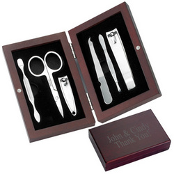 Rosewood Box Manicure Set