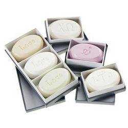 Monogrammed Soap Set