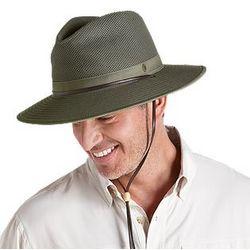 Men's Crushable Ventilated Canvas Sun Hat