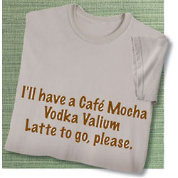 Café Mocha Vodka Sweatshirt