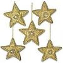 Dazzling Star Beaded Ornaments