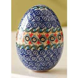 Handcrafted Polish Egg Ornament